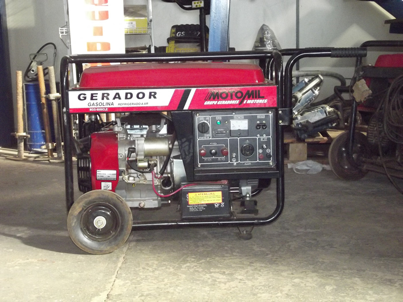 Gerador de Energia (Moto Mil)