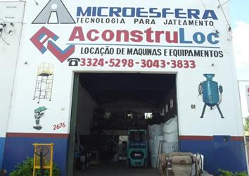 A qualidade dos produtos é o principal objetivo da A Construloc.